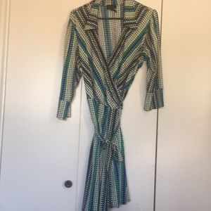 Beautiful Wrap dress size large